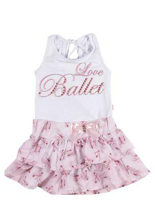Conjunto-Infantil-Para-Menina---Rosa-branco