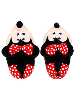 Pantufa-Minnie-Mouse-Feminina-Disney-Vermelho-37-39
