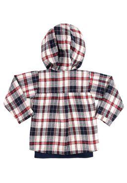 Camisa-Manga-Longa-Infantil-Para-Menino---Bege-azul-1
