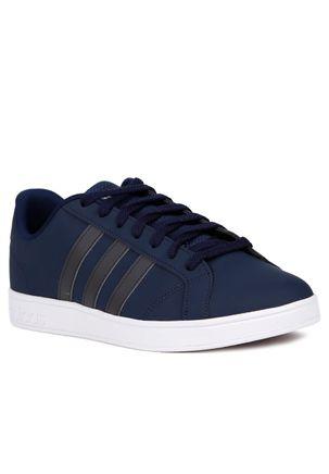 Tenis-Casual-Masculino-Adidas-Advantage-Vs-Azul-cinza-38