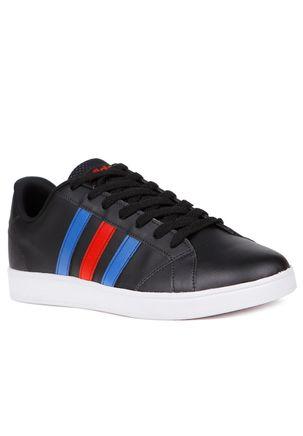 Tenis-Casual-Masculino-Adidas-Advantage-Vs-Preto-azul-38