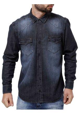 Camisa-Jeans-Manga-Longa-Masculina-Bivik-Azul-P
