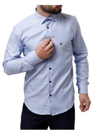 Camisa-Manga-Longa-Masculina-Eletron-Azul-Claro-P