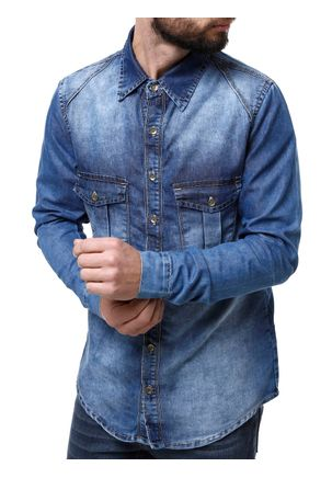 Camisa-Jeans-Manga-Longa-Masculina-Mokkai-Azul-P