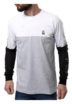Camiseta-Manga-Longa-Masculina-Occy-Branco-cinza-P