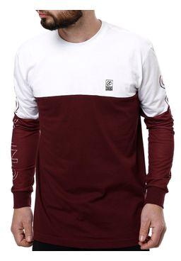 Camiseta-Manga-Longa-Masculina-Occy-Branco-vinho-P