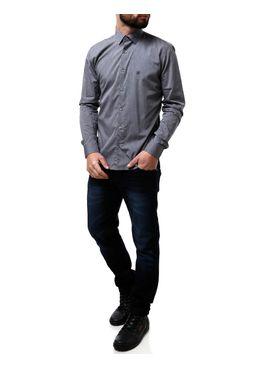 Camisa-Manga-Longa-Masculina-Eletron-Cinza-P