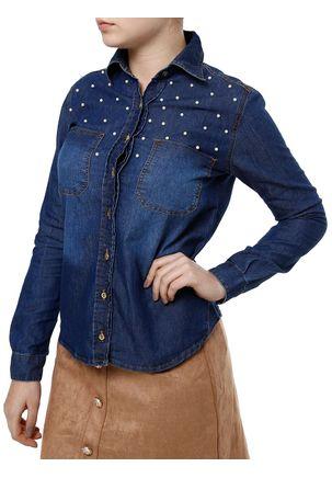 Camisa-Jeans-Manga-Longa-Feminina-Uber-Azul-P