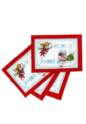 Jogo-Americano-Dohler-Vermelho-branco