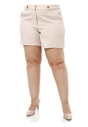 Short-de-Tecido-Plus-Size-Feminino-Bege