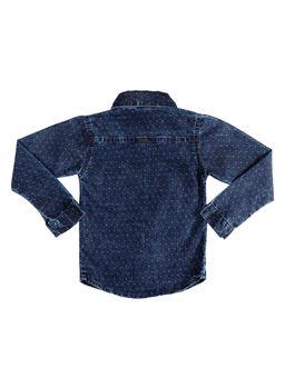 421504cae7 Camisa Manga Longa Infantil para Menino - Azul