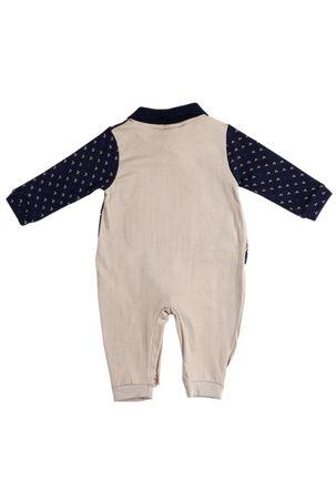 Macacao-Infantil-Para-Bebe-Menino---Azul-bege-P