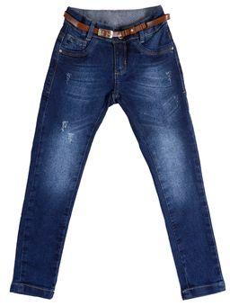 e26a12abf Calça Jeans Skinny Infantil para Menina - Azul