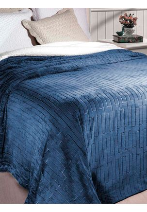 Cobertor-Queen-Azul