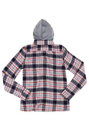 Camisa-Flanela-Manga-Longa-Juvenil-Para-Menina---Azul-cinza-16