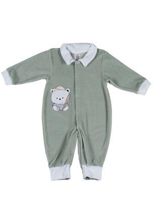 Macacao-Infantil-Para-Bebe-Menino---Verde-P