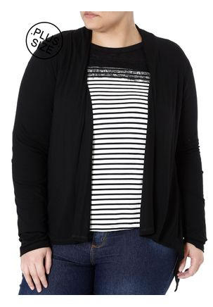Cardigan-Plus-Size-Feminino-Autentique-Preto