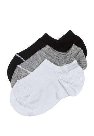 Kit-com-03-Meias-Soquete-Trifil-Juvenil-Para-Menino---Branco-cinza-preto-P