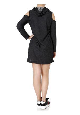 Vestido-Moletinho-Feminino-Autentique-Preto