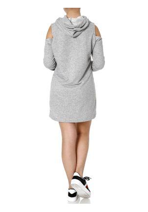 Vestido-Moletinho-Feminino-Autentique-Cinza