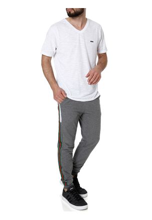 Camiseta-Manga-Curta-Masculina-No-Stress-Branco-M