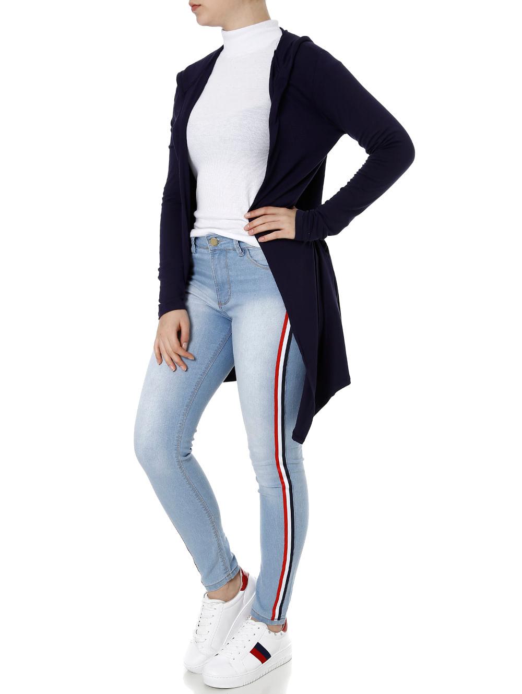 b6130995f Calça Jeans Feminina Sawary Azul - Lojas Pompeia