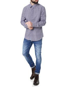 Camisa-Manga-Longa-Masculina-Azul-P