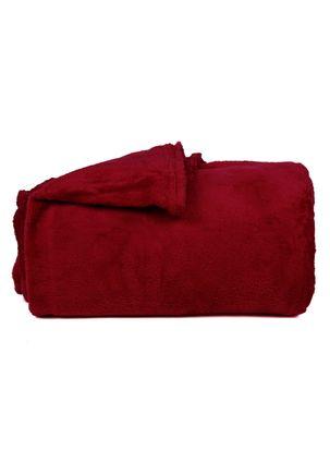 Manta-King-Corttex-Microfibra-Vermelho