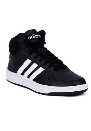 Tenis-Cano-Alto-Masculino-Adidas-Preto-branco