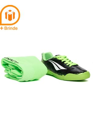 Tenis-Futsal-Penalty-Infantil-Para-Menino---Verde-preto-28