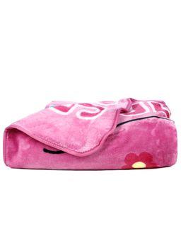 Cobertor-Solteiro-Jolitex-Raschel-Disney-Rosa-Claro