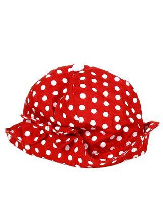 Chapéu Infantil Para Menina - Vermelho - Lojas Pompeia 8e59754118e