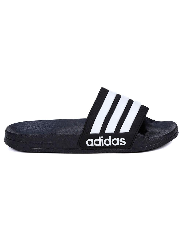 b7b1f5e0d Chinelo Slide Masculino Adidas Preto/branco - Lojas Pompeia