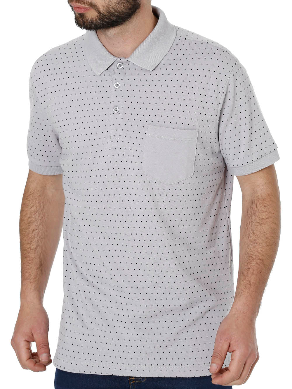 257b315d9c4b1 Camisa Polo Manga Curta Masculina Vels Cinza - Lojas Pompeia