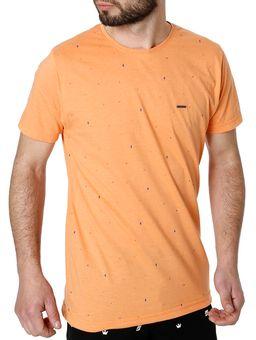 Camiseta-Manga-Curta-Masculina-Laranja-P