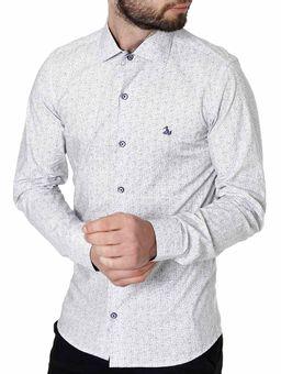 Camisa-Slim-Manga-Longa-Masculina-Branco