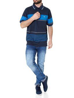Polo-Manga-Curta-Masculina-Vilejack-Azul-Marinho-azul-P