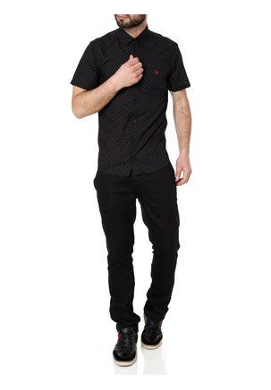 Camisa-Manga-Curta-Masculina-Preto-P