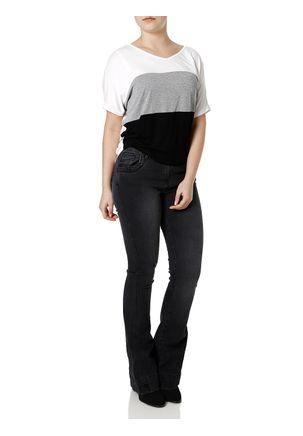 Calca-Jeans-Flare-Feminina-Zune-Preto