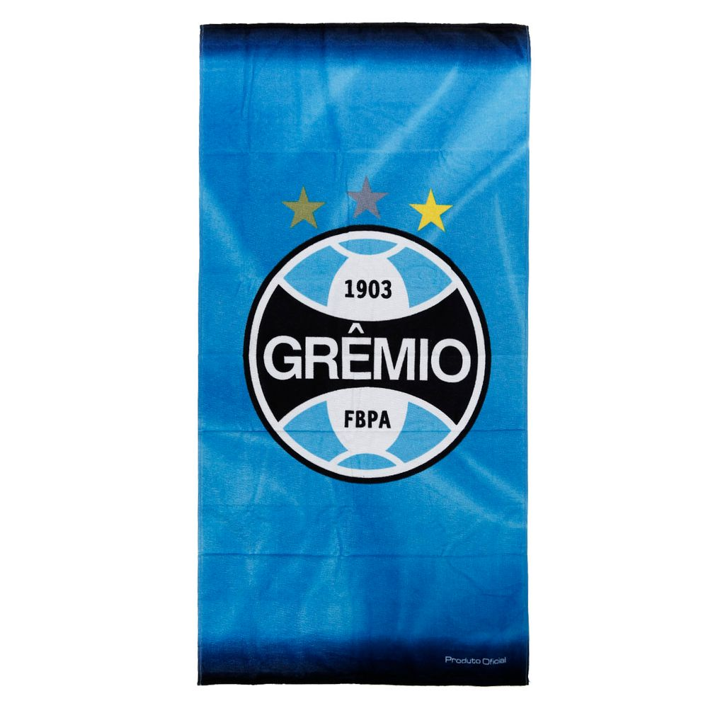 Toalha de Banho Grêmio Azul - Lojas Pompeia fc63e573896fb