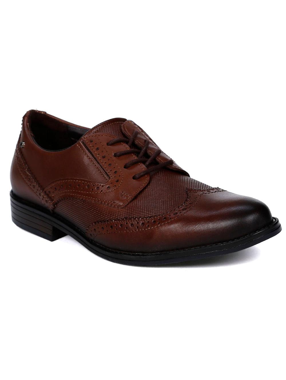 f0ba9e2e64 Sapato Oxford Masculino Pegada Marrom - Lojas Pompeia