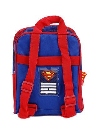Lancheira-Superman-Infantil-Para-Menino---Azul