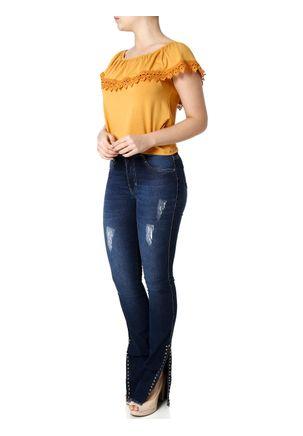 Blusa-Ciganinha-Feminina-Autentique-Caramelo-P