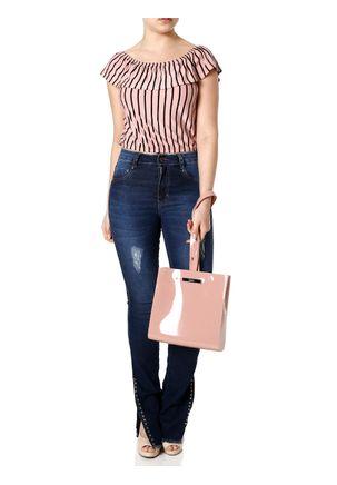 Blusa-Ciganinha-Feminina-Autentique-Rosa-P