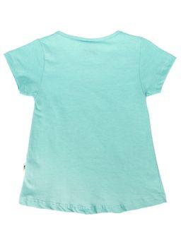 Blusa-Manga-Curta-Infantil-Para-Menina---Verde
