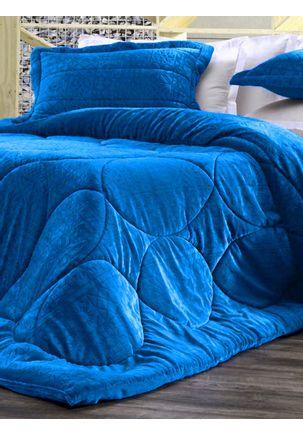 Edredom-Queen-Altenburg-Blend-Elegance-Azul-Escuro-U