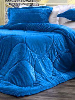 Edredom-Casal-Altenburg-Blend-Elegance-Azul-Escuro