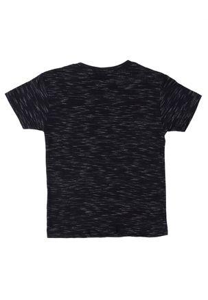 Camiseta-Manga-Curta-Infantil-Para-Menino---Preto
