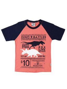 Camiseta-Manga-Curta-Infantil-Para-Menino---Coral-6