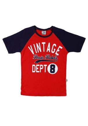 Camiseta-Manga-Curta-Juvenil-Para-Menino---Vermelho-16